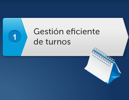Gestion Eficiente de TURNOS