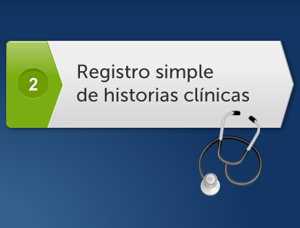 Registro simple de historia clinica electronica