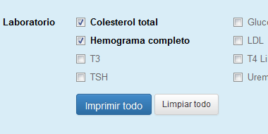 Solicitud de estudios - Historia Clinica RAS Salud